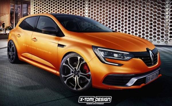 Renault Megane RS-render