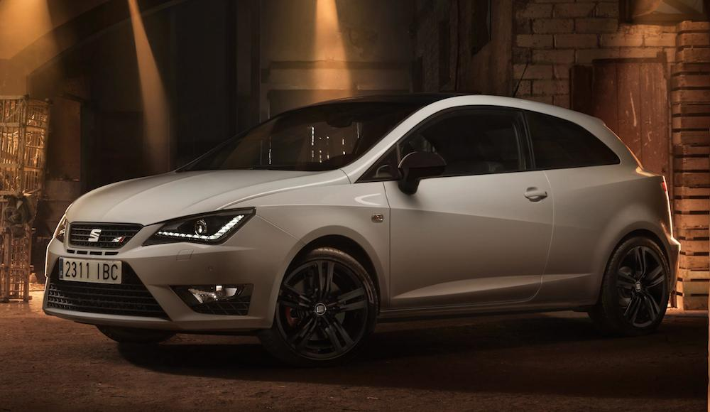 official 2016 seat ibiza cupra. Black Bedroom Furniture Sets. Home Design Ideas