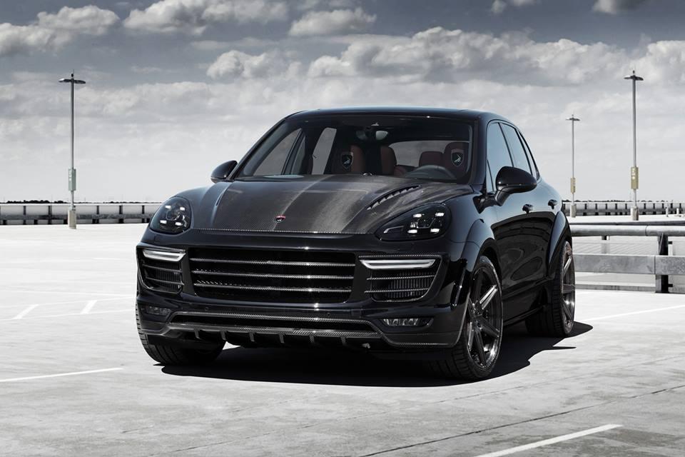 Carbon Crazed Topcar Porsche Cayenne 2015