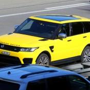Yellow-Range Rover Sport SVR-2