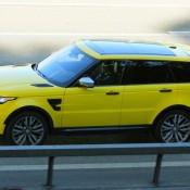 Yellow-Range Rover Sport SVR-4