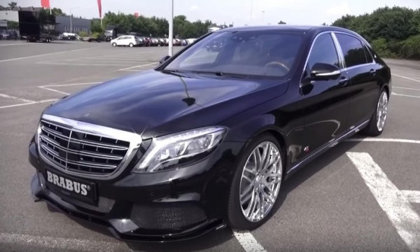 maybach rocket 600x360 at Up Close and Personal with Brabus Maybach 900