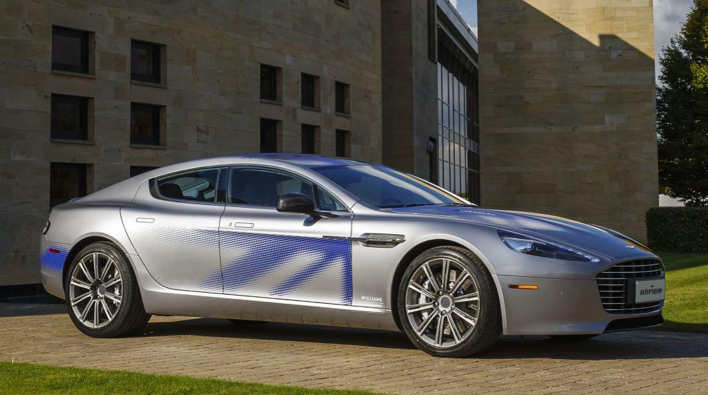 Official Aston Martin Rapide Concept
