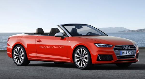 Audi A5 Cabriolet render