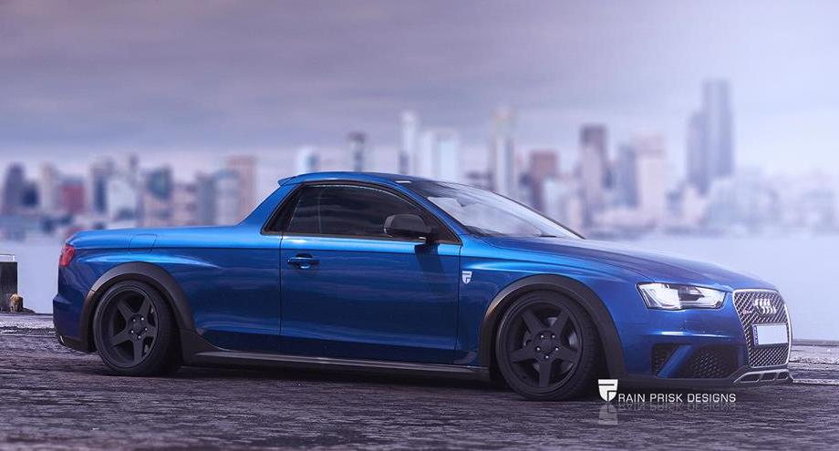 Rendering Audi Rs4 Ute Is A Surprisingly Good Idea