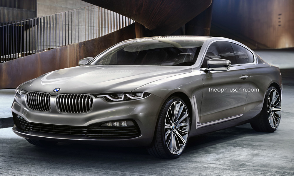 New BMW 8 Series Speculatively Rendered