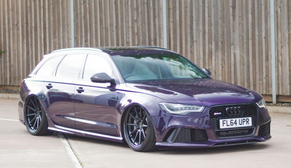 Bagged Audi RS6-0