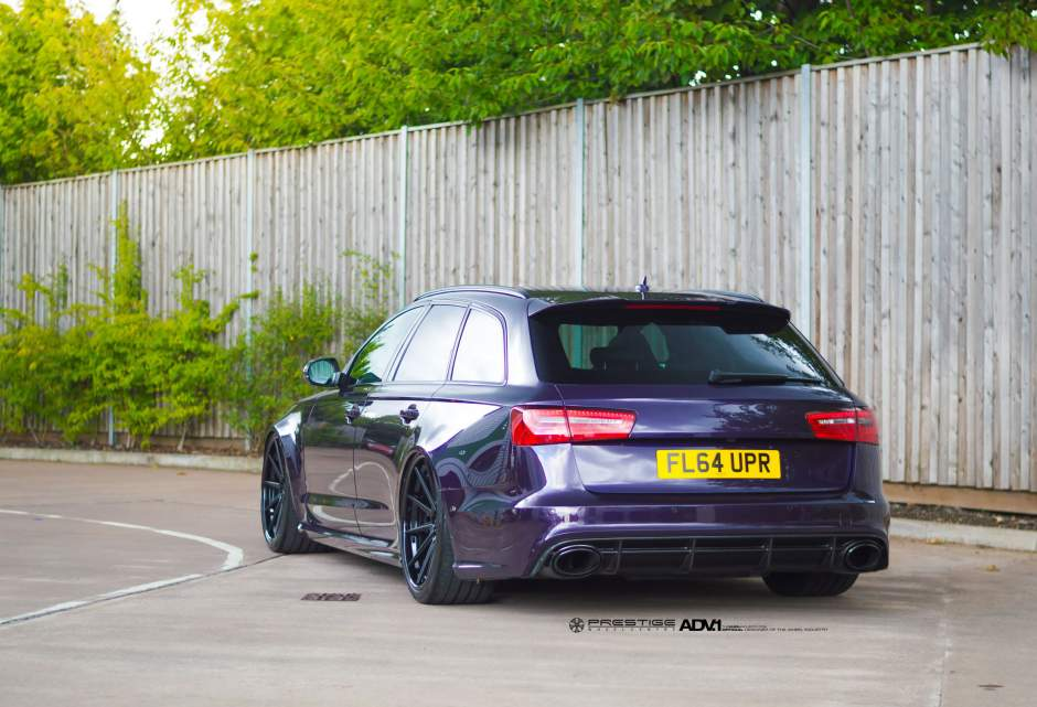 Gallery: Bagged Audi RS6 on ADV1 Wheels