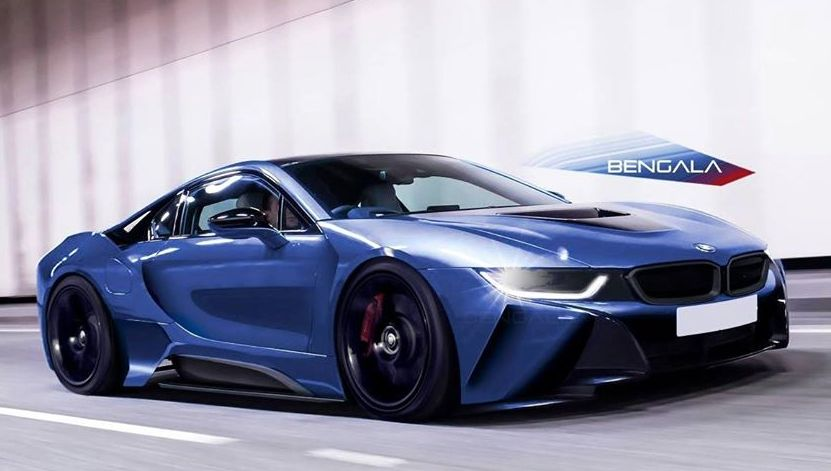 virtual tuning bengala bmw i8. Black Bedroom Furniture Sets. Home Design Ideas