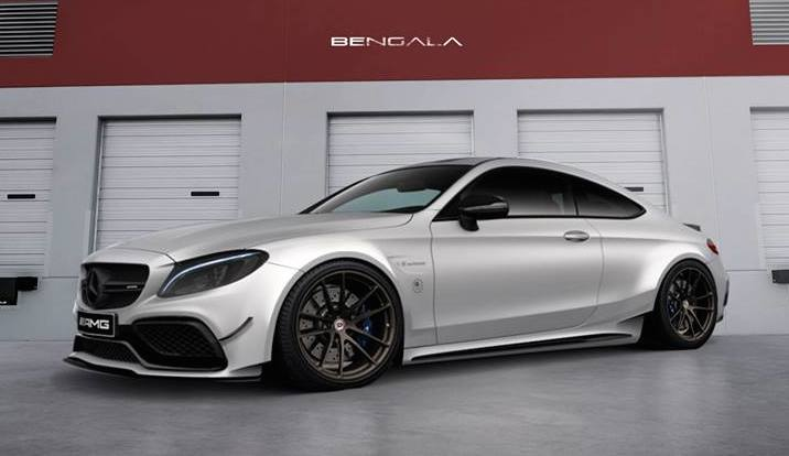 Virtual Tuning Bengala Mercedes C63 Coupe