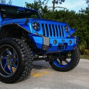 Blue Custom Jeep Wrangler-2