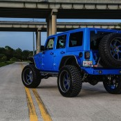 Blue Custom Jeep Wrangler-4