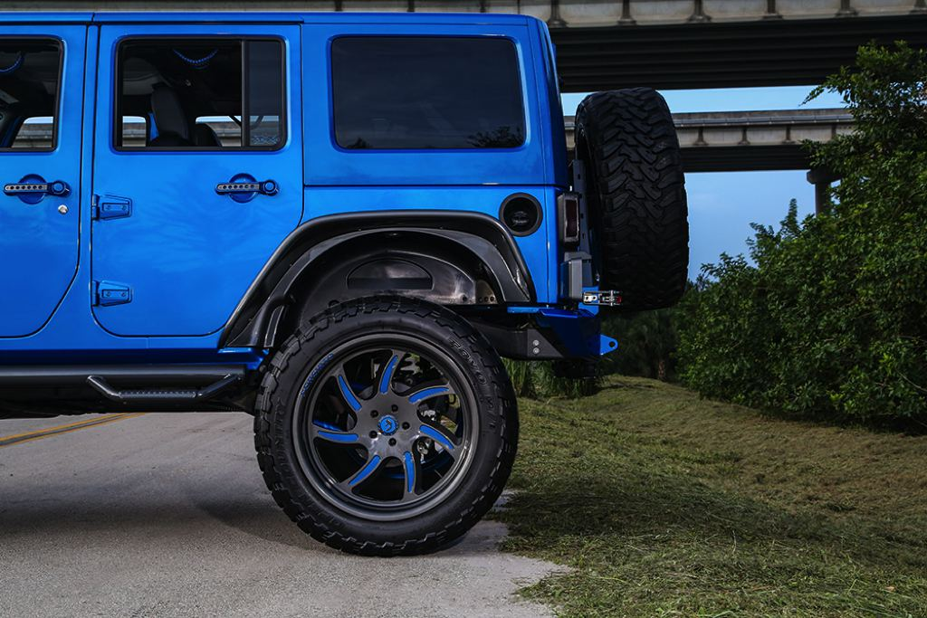 blue customized jeep wranglers. blue customized jeep wranglers d