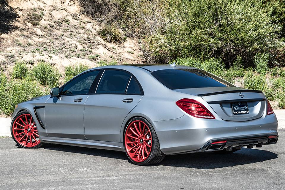 Forgiato mercedes s550 is a custom job for How much is a 2014 mercedes benz s550