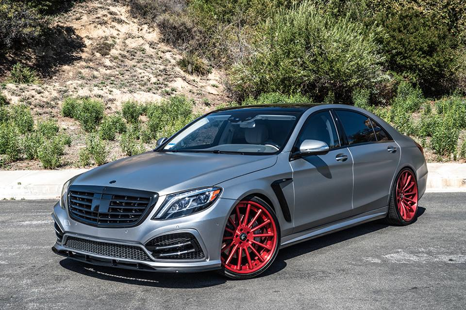Forgiato mercedes s550 is a custom job for Mercedes benz employment