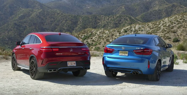 Mercedes Gle 63 Coupe Takes On Bmw X6m