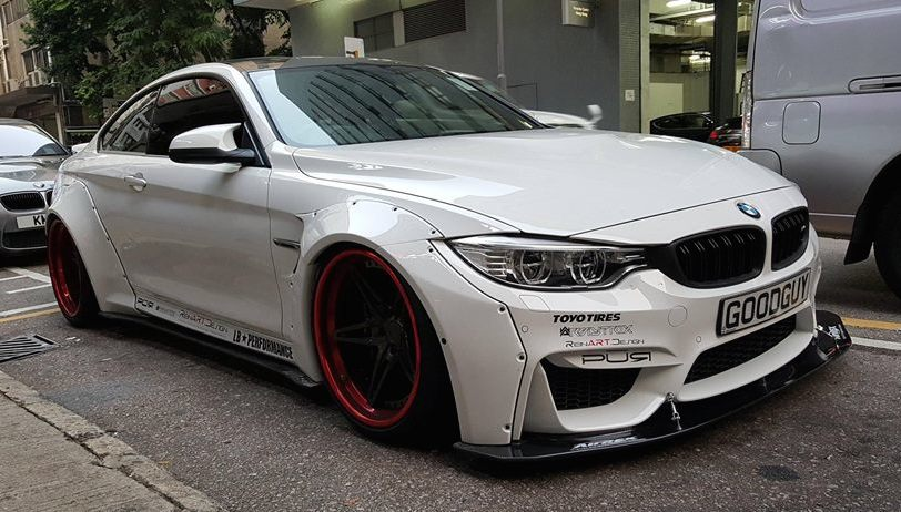 Liberty Walk Bmw M4 By Reinart Design