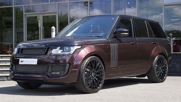 Maroon Kahn Design Range Rover-0