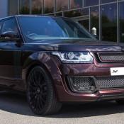 Maroon Kahn Design Range Rover-1