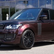 Maroon Kahn Design Range Rover-3