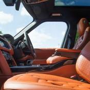 Maroon Kahn Design Range Rover-4