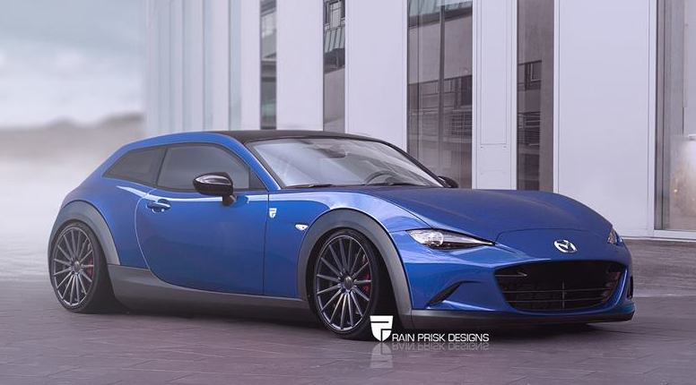 Rendering Mazda Mx 5 Hatchback