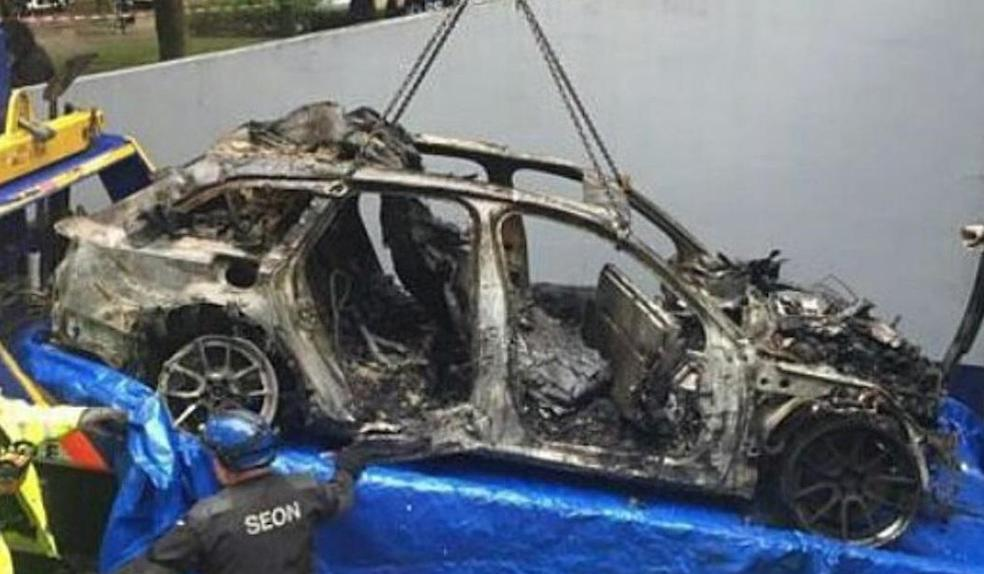 Olsson S Audi Rs6 Dtm Torched By Car Thieves