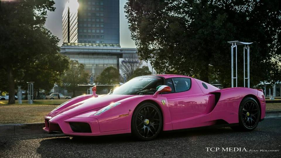 Japanese Collector Has Pink Ferrari Enzo