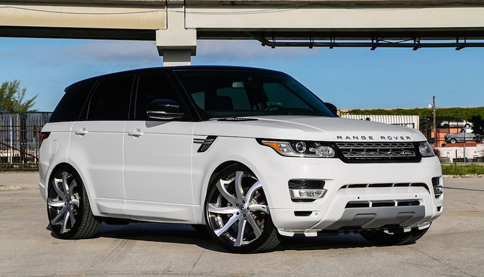 Custom Range Rover Sport On Forgiato Wheels