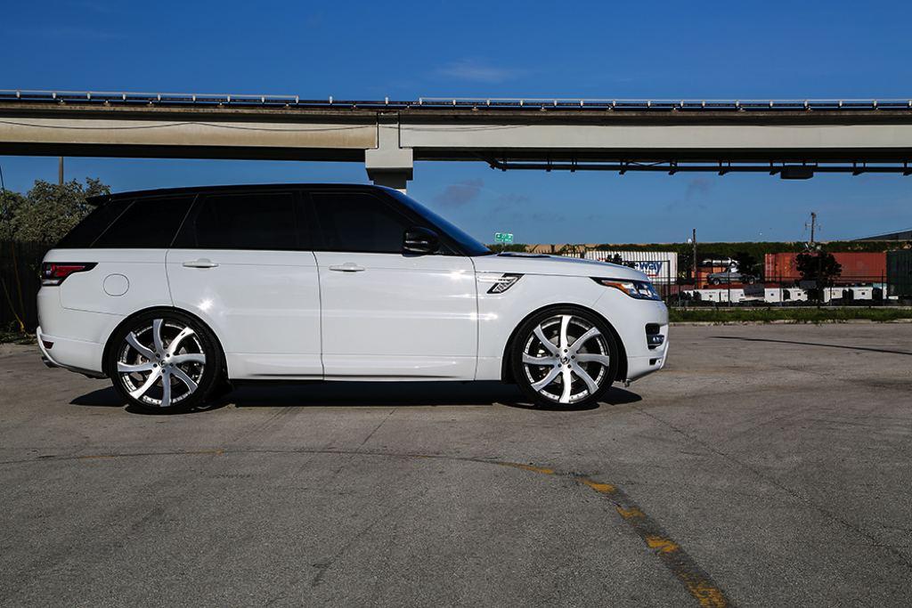 Custom Range Rover Sport on Forgiato Wheels