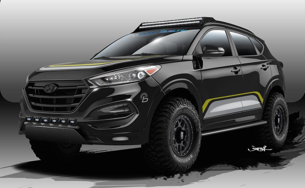 Sema preview rockstar performance garage tucson for Garage hyundai 78