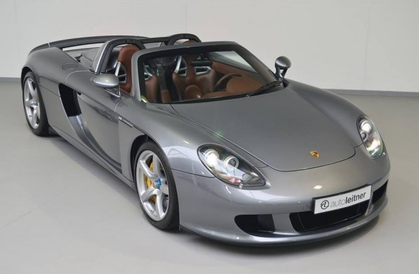 Seal Grey Porsche Carrera GT-0