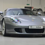 Seal Grey Porsche Carrera GT-9