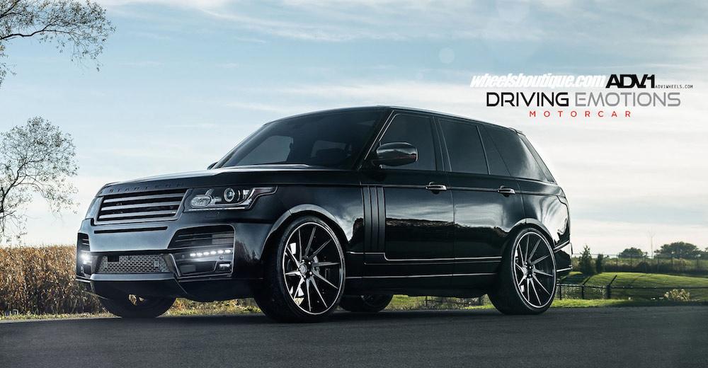 Adv1 Wheels Look Good On Startech Range Rover