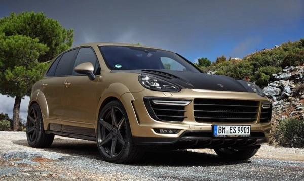 TopCar Cayenne Vantage Gold-0