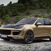 TopCar Cayenne Vantage Gold-1