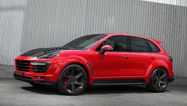 TopCar Porsche Cayenne-Red-0