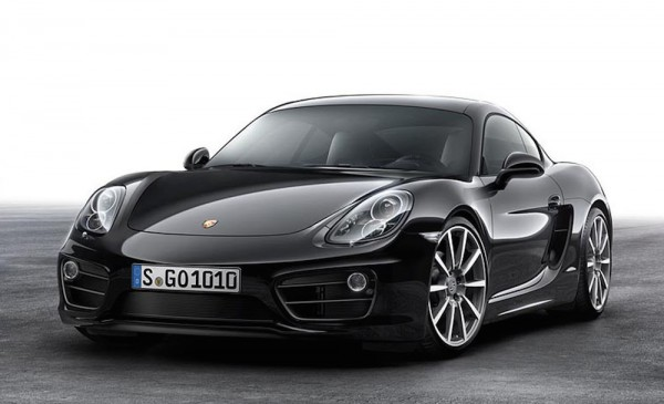 The new Porsche Cayman Black Edition (PRNewsFoto/Porsche Cars North America, Inc.)