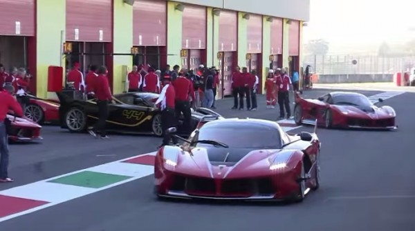 14x Ferrari FXX K
