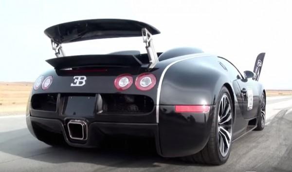 Bugatti Veyron Sang Noir-run