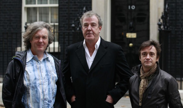 Clarkson May Hammond 600x356 at BBC Pays Homage to Clarkson with Christmas Special