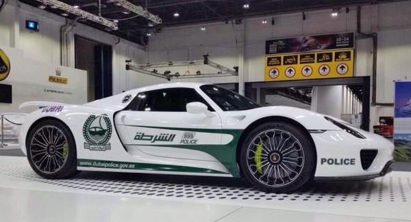 Dubai Police Porsche 918-1