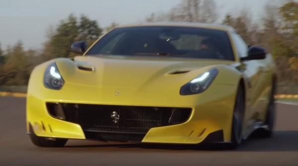 Ferrari F12tdf Promo Clip