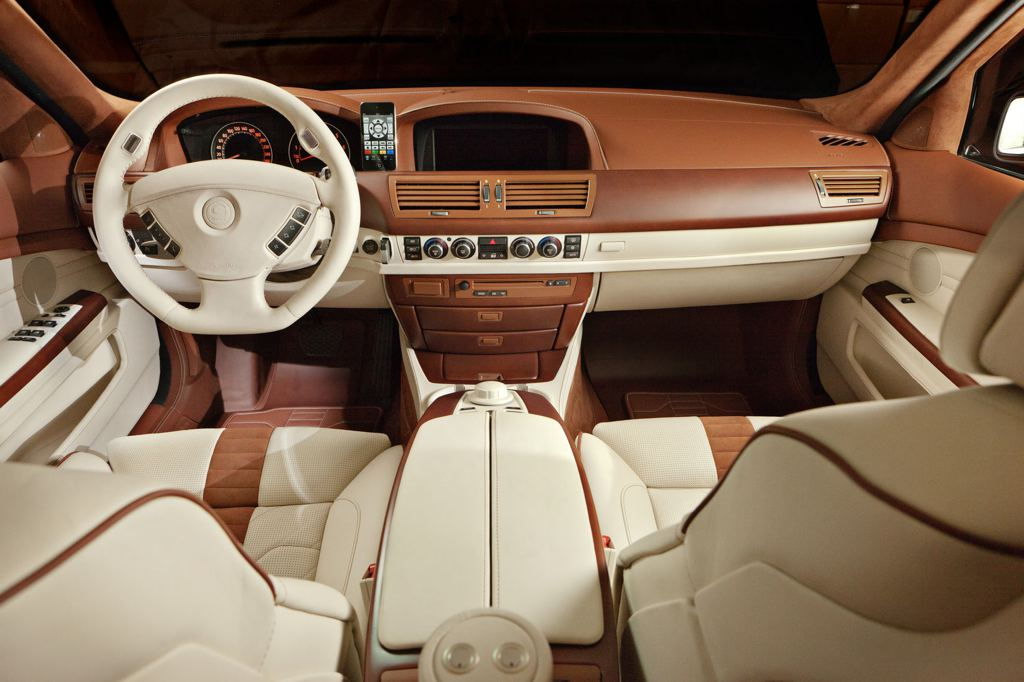 G Power Bmw 760li Gets Fancy Interior