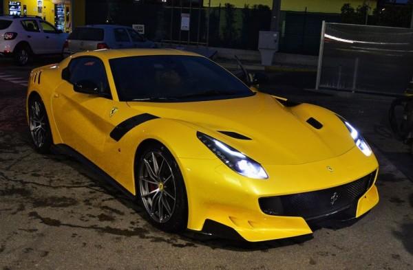 Giallo Ferrari F12tdf-0