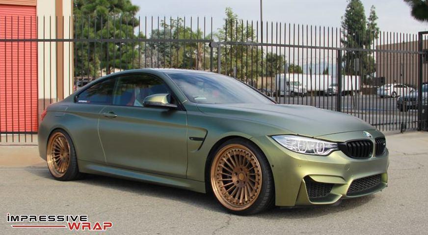 Stunner: Matte Gold Starlight BMW M4