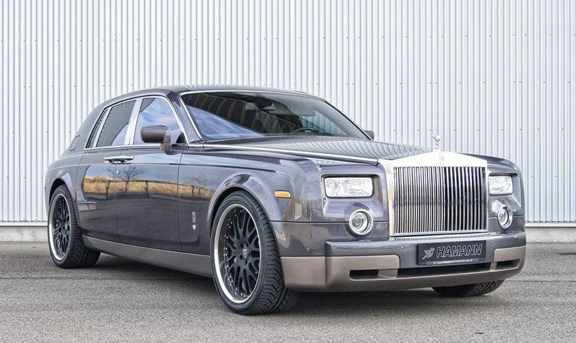 Hamann Rolls-Royce Phantom with Anodized Rims