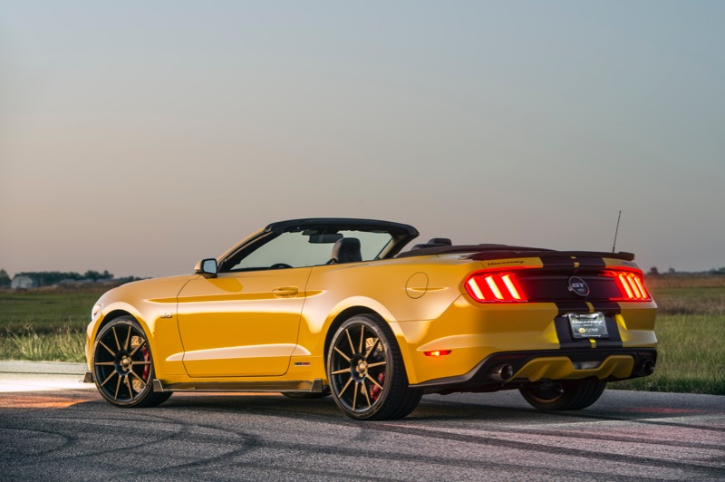 Hennessey Mustang Convertible Unveiled at SEMA