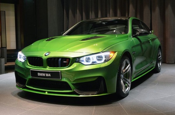 Java Green BMW M4-0
