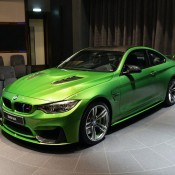 Java Green BMW M4-1